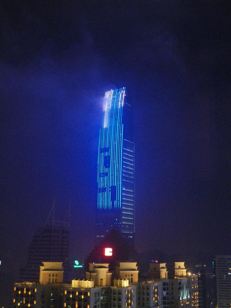 Одно из самых высоких здание в Китае