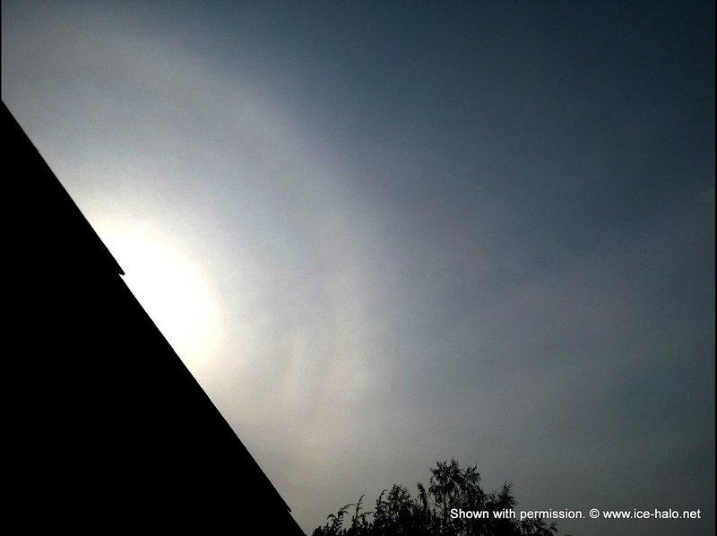 Пирамидальное гало во Владимирской области   - Гало
