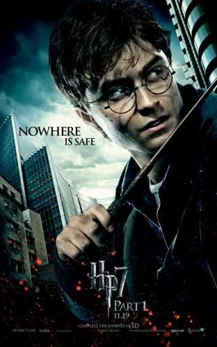 Постер на фильм Гарри Поттер 7
