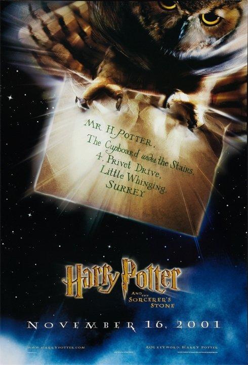 Постеры «Гарри Поттер и Философский камень»