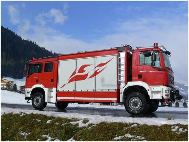 Пожарная машина  TLF 2000/400