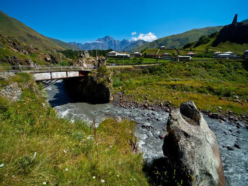 Река в долине Трусо