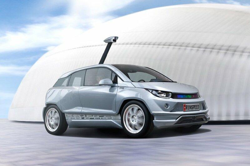 Rinspeed Budii: концепт BMW i3 с автопилотом
