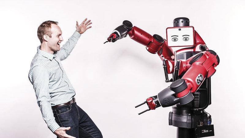 робот бакстер