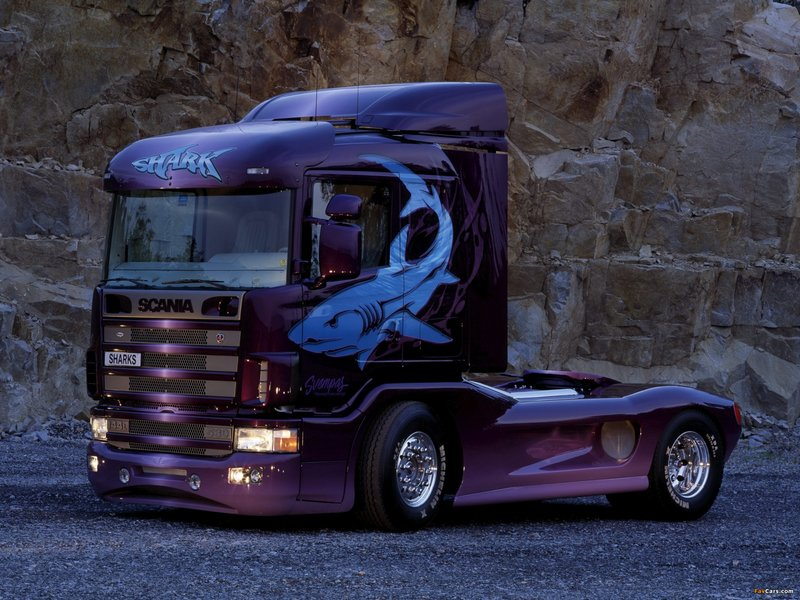 Scania 144L 530 Shark