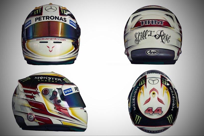 Шлем Льюиса Хэмилтона на сезон 2015 года | 2015 helmet of Lewis Hamilton