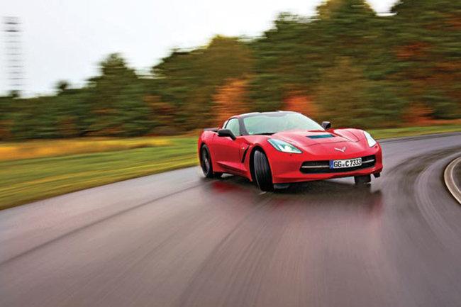 Тест-драйв Chevrolet Corvette C7 Stingray