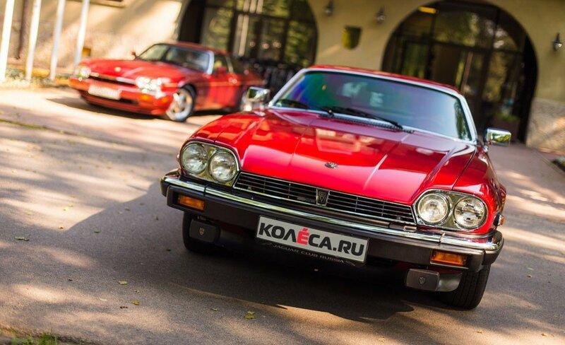 Тест-драйв Jaguar XJ-S