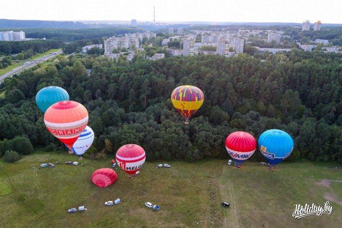 Уроки Литовского. Над Вильнюсом на воздушном шаре - туристический блог об отдыхе в Беларуси