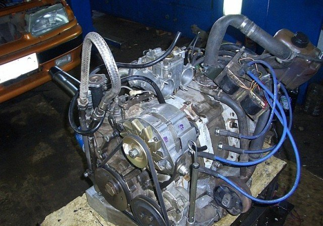 ВАЗ 2109-90 роторным двигателем