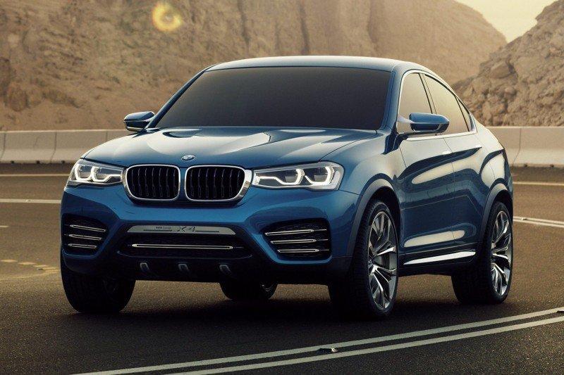 Внедорожное купе BMW Х4 2015 года