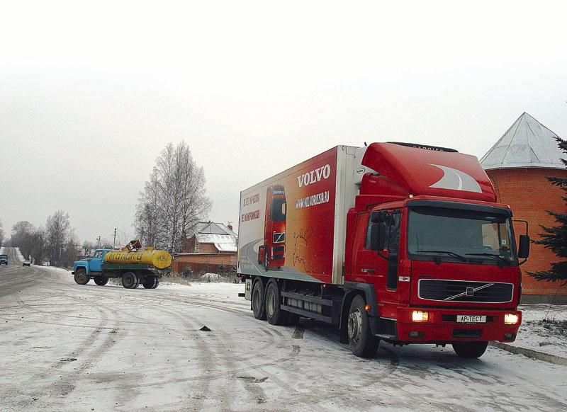 Volvo FL6 КамАЗ по-шведски