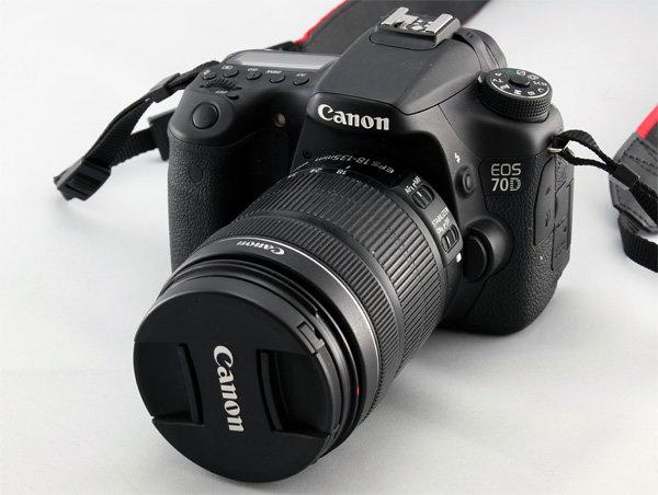 Зеркальная фотокамера Canon EOS 70D - обзор