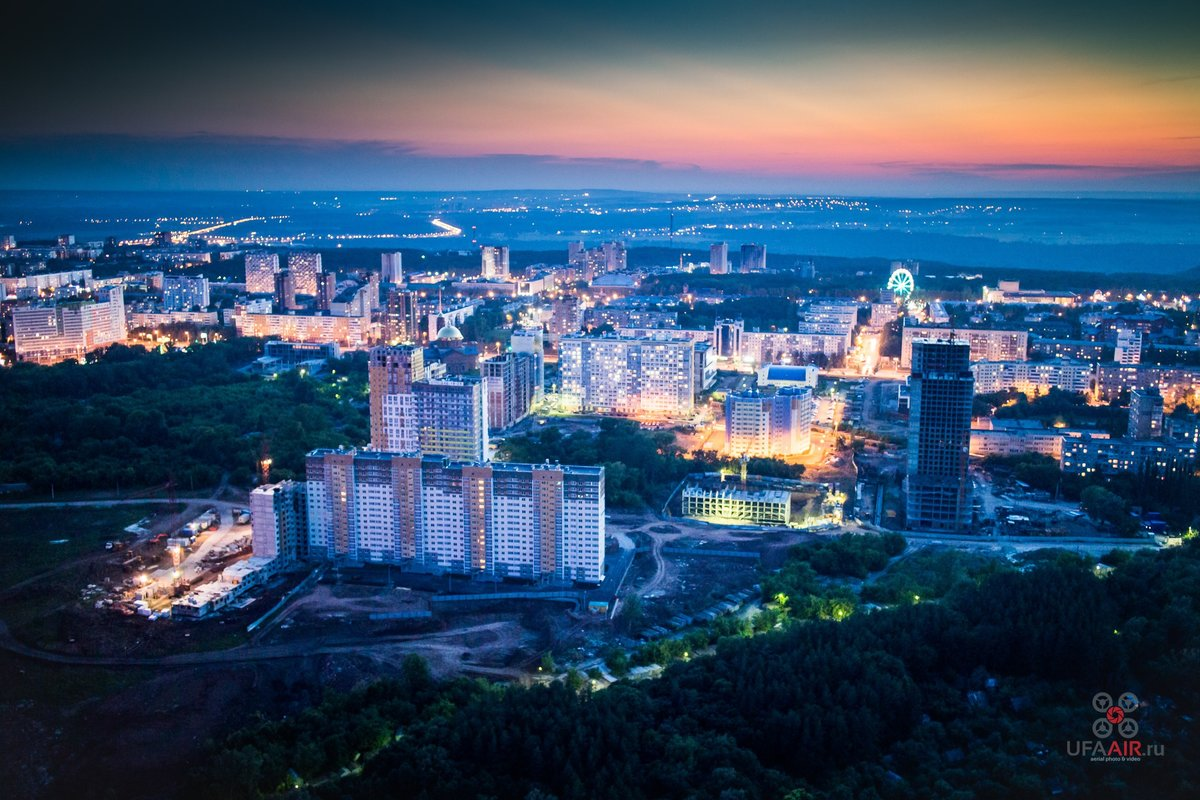 Уфа картинка города