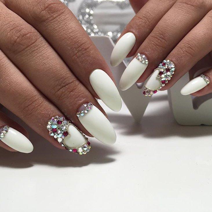 Ногти нарощенные фото: 100 фото, дизайн нарощенные ногти
