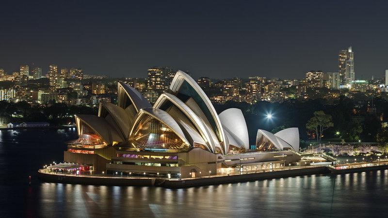 Достопримечательности Сиднея   География путешествий с geomasters.ru ... 8597 Достопримечательности Сиднея