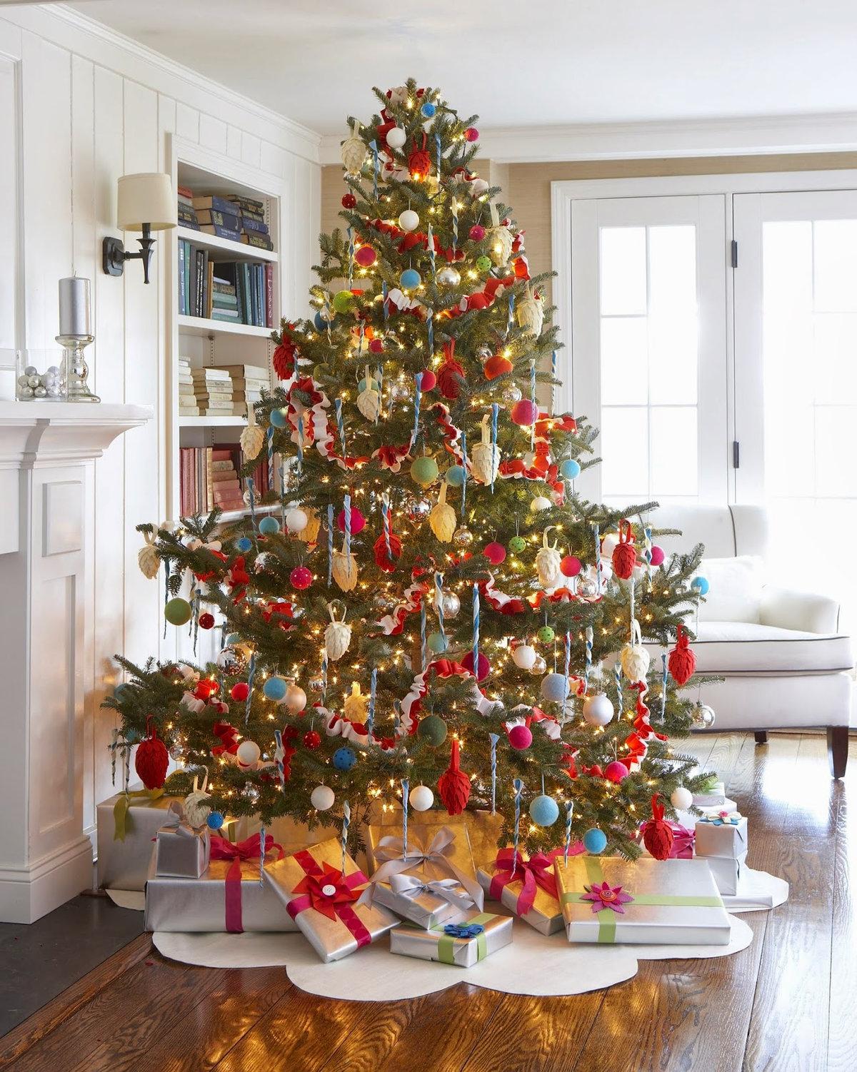 есть новогодние елки фото для дома роликах