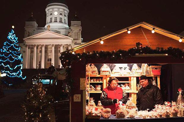 В центре Хельсинки также будет установлена яркая музыкальная карусель.