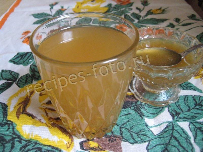 чай с сахаром или с медом