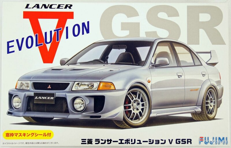Fujimi Mitsubishi Lancer Evolution V GSR
