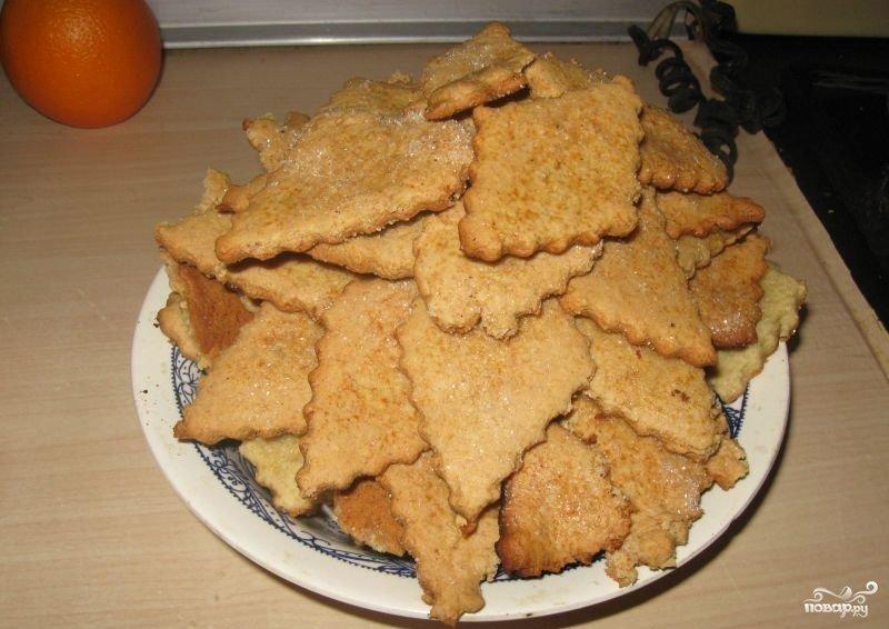 Вкусное нежирное печенье рецепт
