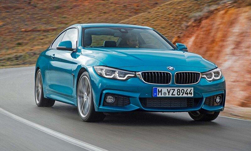 Обновлённый BMW 4