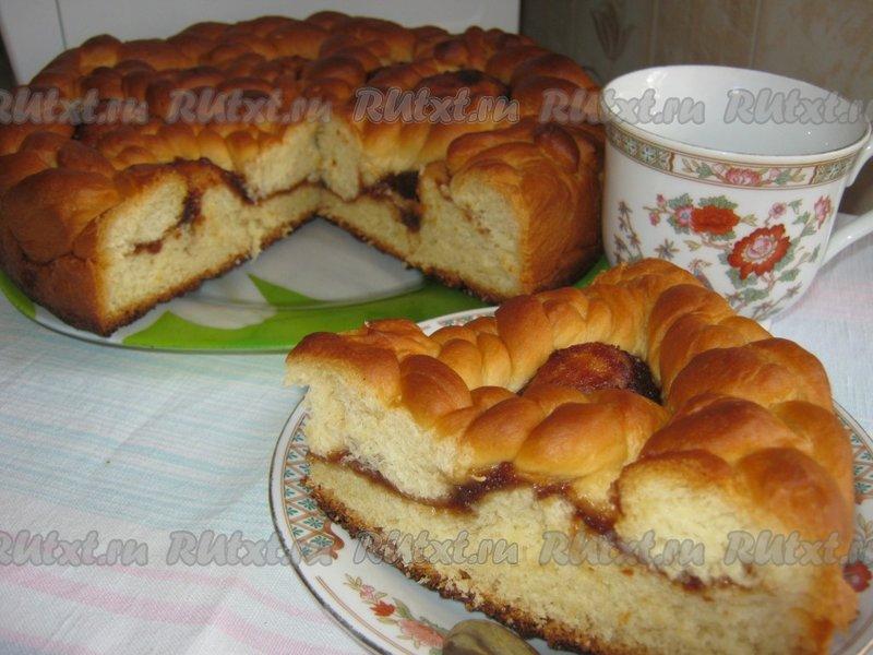 Фото рецепт дрожжевых пирожков с повидлом