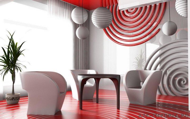 Привлекательный домашний интерьер – стиль Авангард
