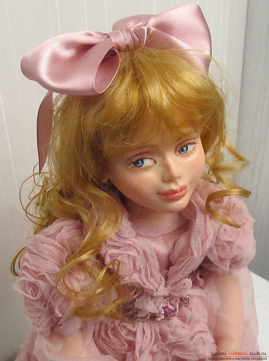 кукла из пластика крупные махровые