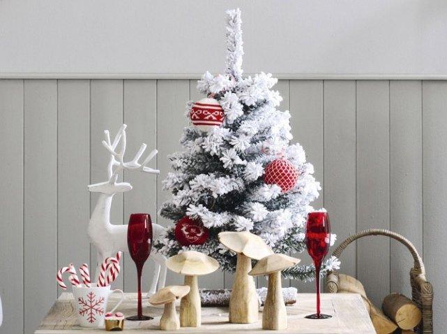 7-Красивые-украшенные-елки:-фото