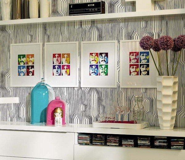 Дизайн интерьера в стиле поп-арт  | Дизайн интерьера | Декор своими руками