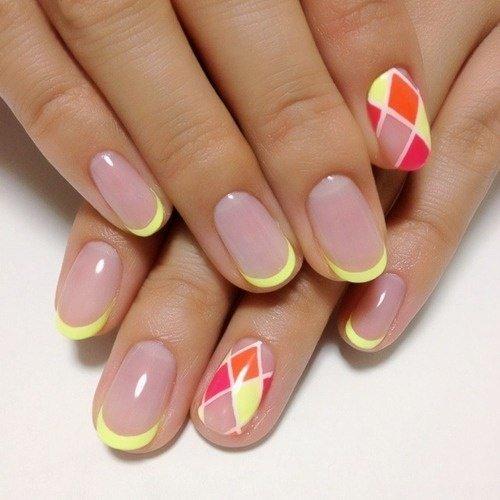 Дизайн ногтей гель-лаком: фото новинки 2015 года сезона весна-лето