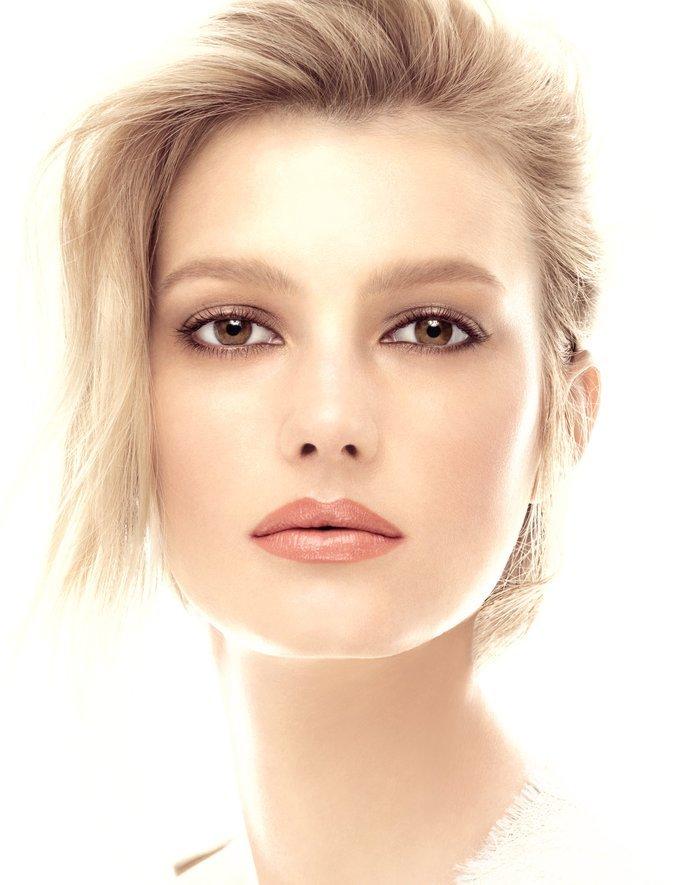 дневной красивый макияж для карих глаз