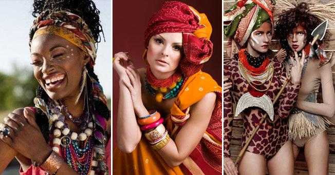 Этно стиль в одежде