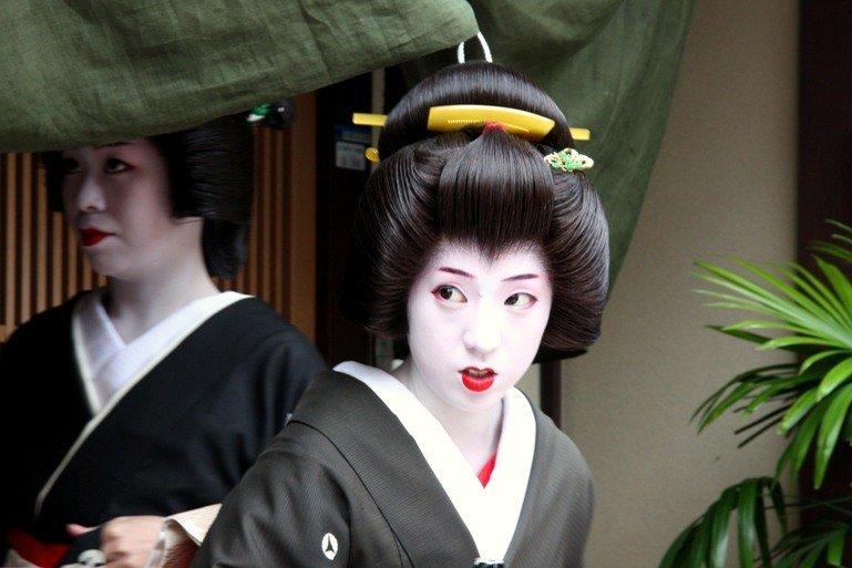 Гейши Киото (58 фото) » Невседома - жизнь полна развлечений