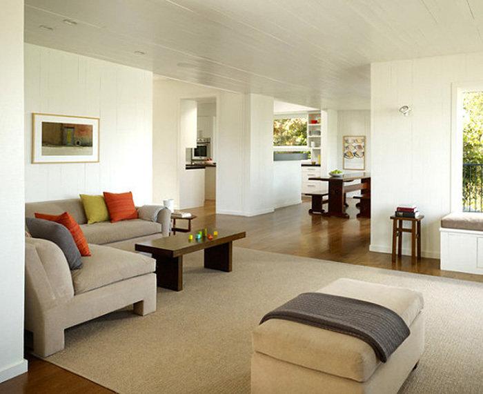 Гостиная в стиле минимализм – 17 фото дизайна интерьеров