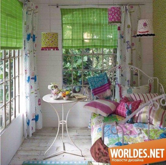 Идеи яркого декора спальни фото 6