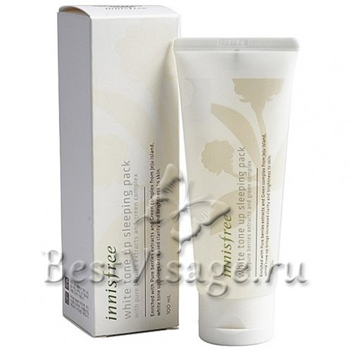 Innisfree White Tone Up Sleeping Pack купить в Москве