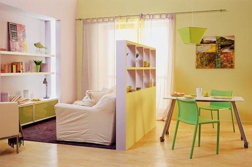 Интерьер маленькой квартирки