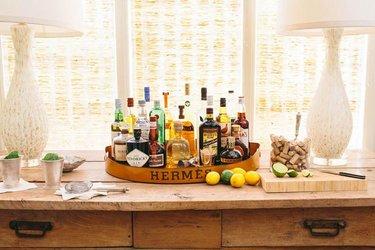 как организовать бар дома