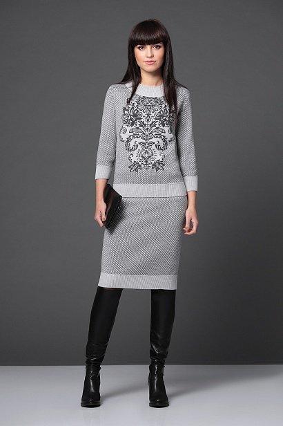 Костюм (джемпер-юбка) ДВ-1124 (Белоруссия ) | Новые поступления | Купить женскую одежду в интернет-магазине «Люция»