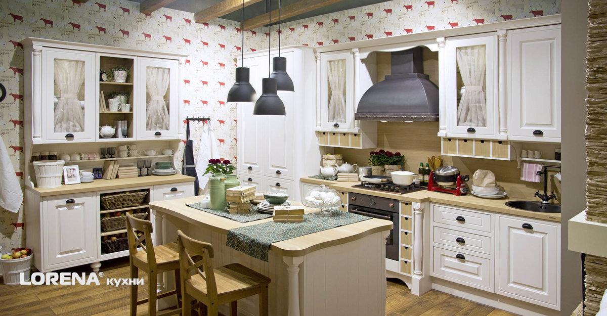 Кухонный гарнитур Вилладж | Мебельная компания «LORENA кухни»