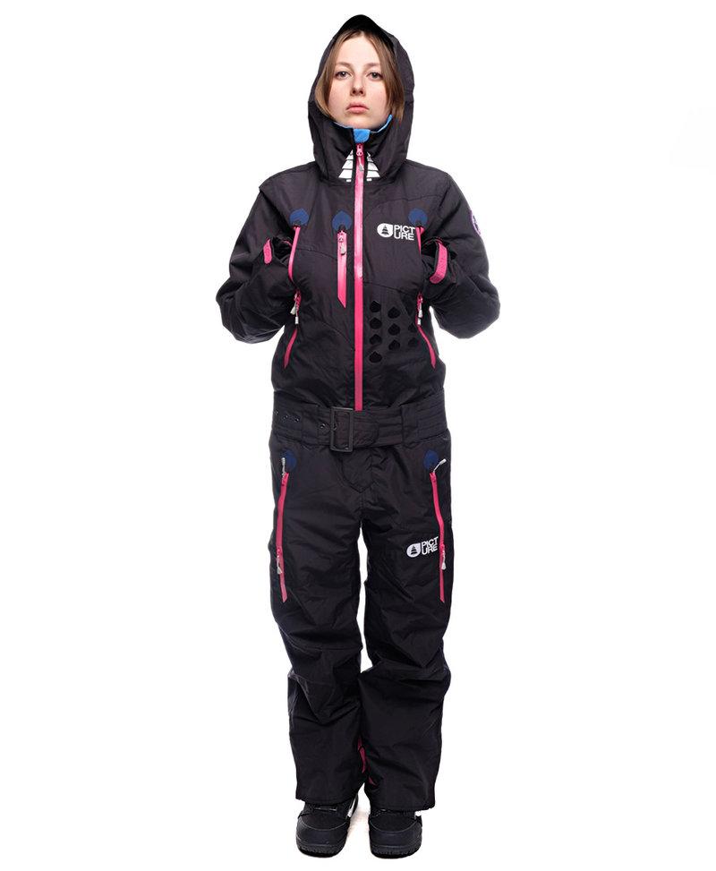Купить комбинезон сноубордический PICTURE ORGANIC APPOLA Black со скидкой в интернет магазине Сквот с доставкой по России.