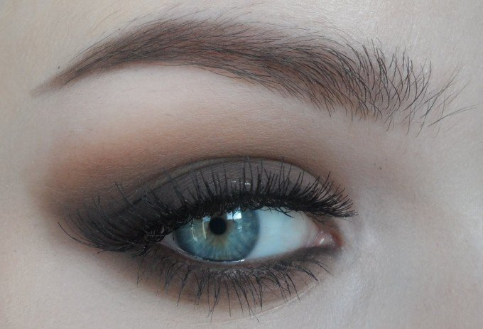 макияж смоки айс пошаговое фото