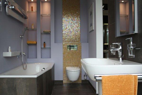 Малогабаритные ванные комнаты (158)