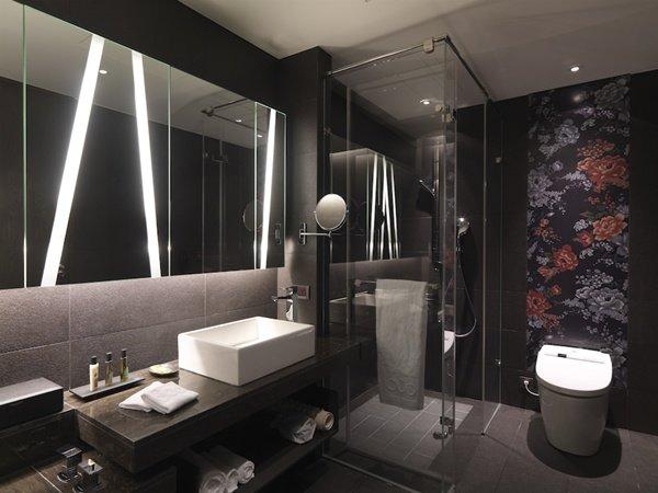 Малогабаритные ванные комнаты (159)