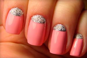 Маникюр с лунками на ногтях — идеи дизайна с фото