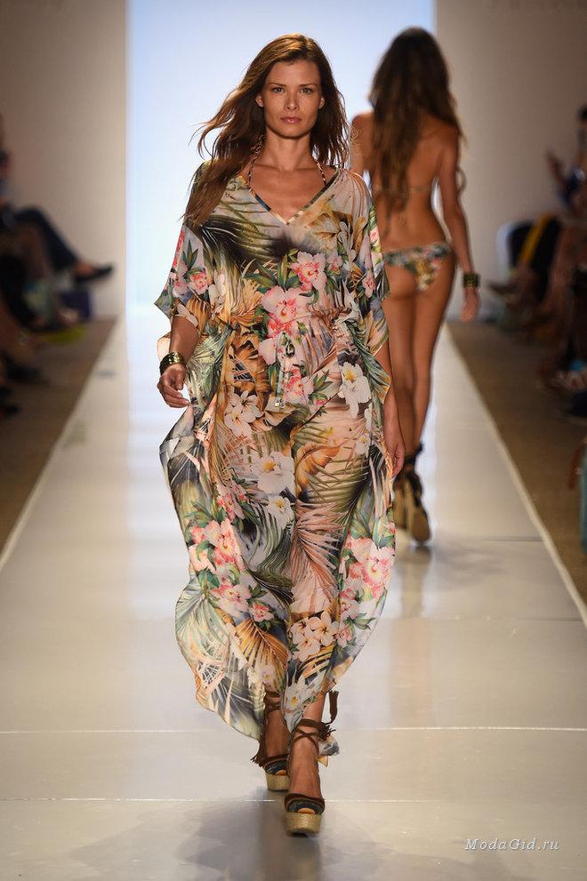 Мода и стиль: 50 знойных образов с недели пляжной моды в Майами 2015