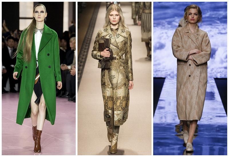 Модное женское пальто Осень - Зима 2015-2016 с фото