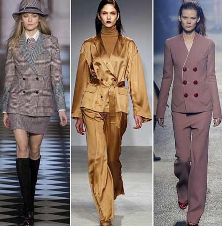 Модные деловые костюмы осень-зима 2015-2016